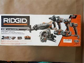 RIDGID TOOLS Impact Wrench/Driver R9652 18V COMBO SET
